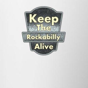 Keep The Rockabilly - Contrast Coffee Mug