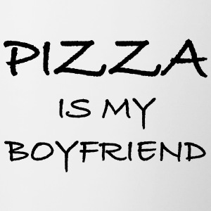 Pizza Is My Boyfriend - Contrast Coffee Mug
