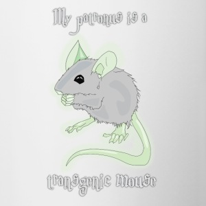My Patronus is a Transgenic Mouse - Contrast Coffee Mug