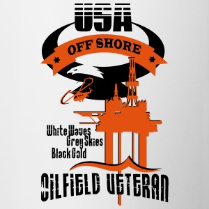 USA Oilfield Veteran - Contrast Coffee Mug