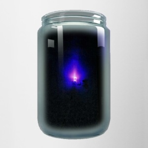 Blue Light - Contrast Coffee Mug