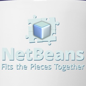 NetBeans with Logo and Slogan - Contrast Coffee Mug