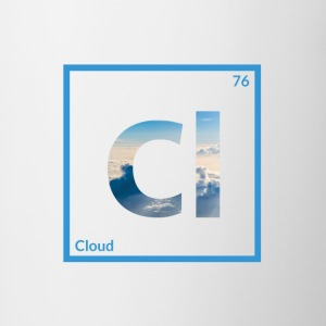 Cloud - Contrast Coffee Mug