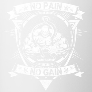 No Pain No Gain - Contrast Coffee Mug