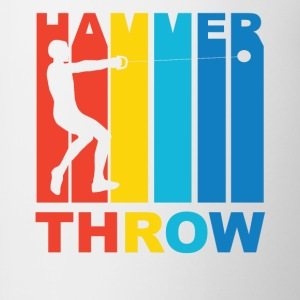 Vintage Hammer Throw Graphic - Contrast Coffee Mug