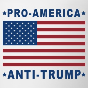 PRO-AMERICA ANTI-TRUMP - Contrast Coffee Mug