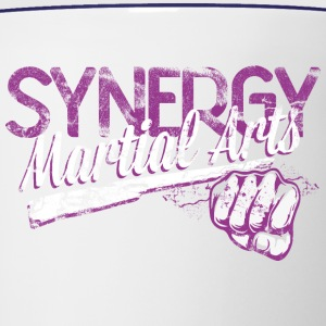 synergy Martial Arts inscription - Contrast Coffee Mug