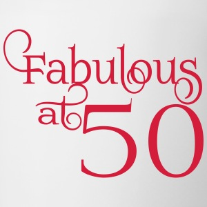 Fabulous at 50 - Contrast Coffee Mug