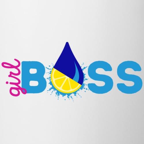 Girl Boss Shirt png - Contrast Coffee Mug