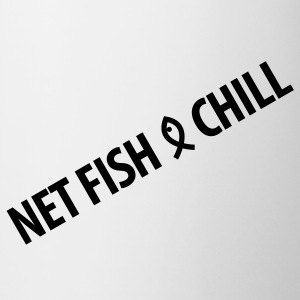 Netfish and Chill 1 - Contrast Coffee Mug
