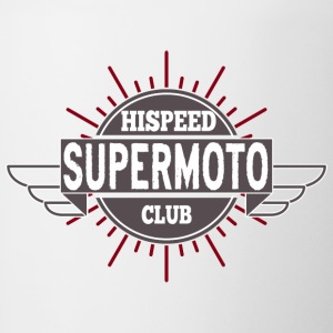 Supermoto Hispeed Club - Contrast Coffee Mug