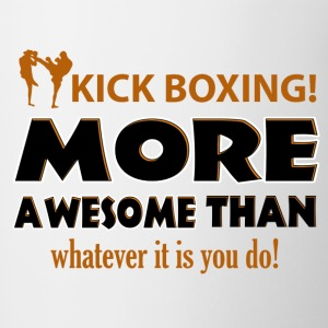 KICK BOXING design - Contrast Coffee Mug