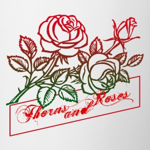 Thorns and Roses - Contrast Coffee Mug