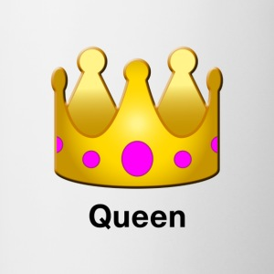 Queen Crown Design - Contrast Coffee Mug