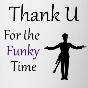 Prince - Darling Nikki Thank U for a Funky Time - Contrast Coffee Mug