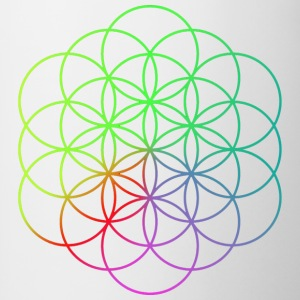 Coldplay Flower of Life - Contrast Coffee Mug