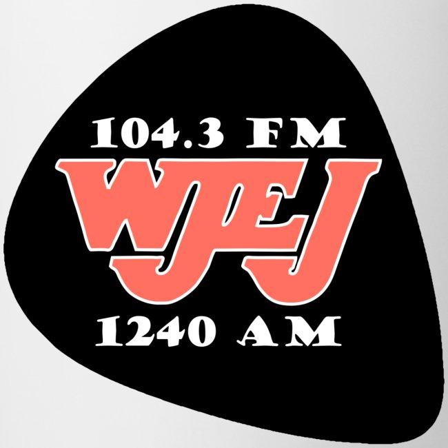 WJEJ Radio AM/FM Guitar Pic Logo