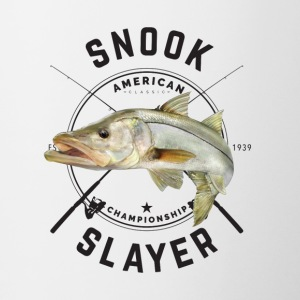 Snook Fishing - Contrast Coffee Mug