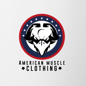 American Muscle Clothing - Contrast Coffee Mug