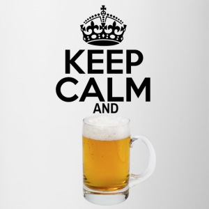 Keep Calm and Beer - Contrast Coffee Mug