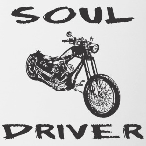 Motorcycle SOUL DRIVER - Contrast Coffee Mug