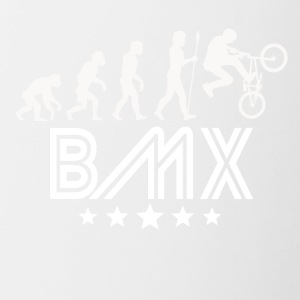 Retro BMX Evolution - Contrast Coffee Mug