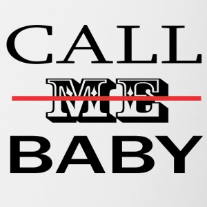 CALL_ME_BABY - Contrast Coffee Mug