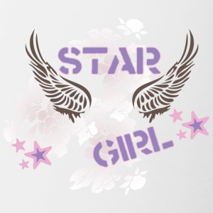 star_girl - Contrast Coffee Mug