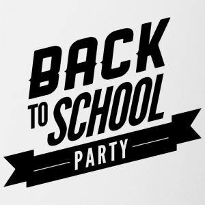 back_to_school_party - Contrast Coffee Mug