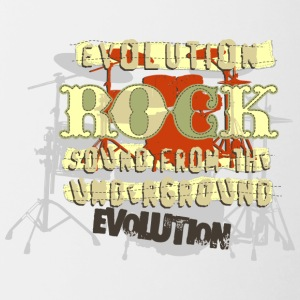 EVOLUTION ROCK - Contrast Coffee Mug