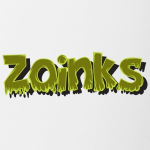 zoinks - Contrast Coffee Mug