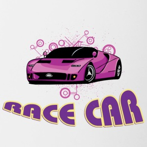 Race_car - Contrast Coffee Mug