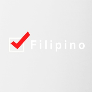 Check Filipino - Contrast Coffee Mug