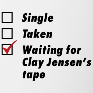 Waiting for Clay Jensen's tape - Contrast Coffee Mug