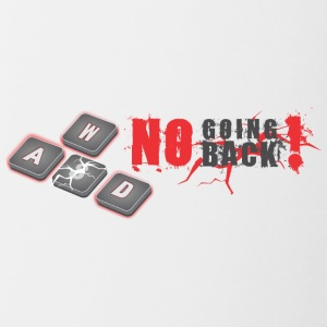 There's No Going Back Anymore! - Contrast Coffee Mug