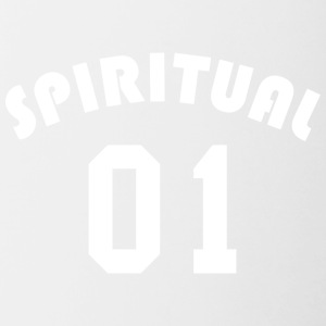Spiritual 01 - Team Design (White Letters) - Contrast Coffee Mug