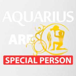 Aquarius are special person - Contrast Coffee Mug