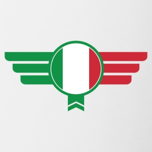 Italy Italia Badge Emblem - Contrast Coffee Mug