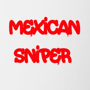 Mexican Sniper Graffiti - Contrast Coffee Mug