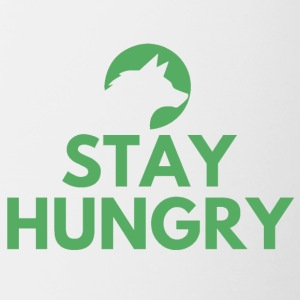 Stay hungry Project Wolfpack - Contrast Coffee Mug