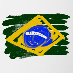 Brazilian Flag - Contrast Coffee Mug