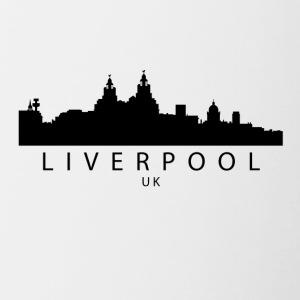 Liverpool England UK Skyline - Contrast Coffee Mug