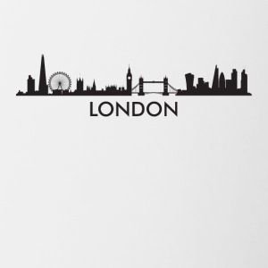 London England Skyline - Contrast Coffee Mug