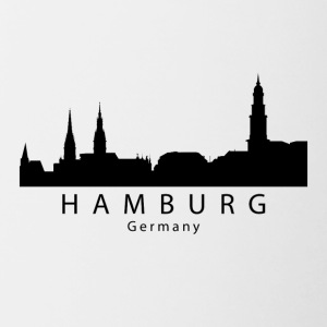 Hamburg Germany Skyline - Contrast Coffee Mug