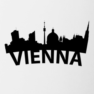 Arc Skyline Of Vienna Austria - Contrast Coffee Mug