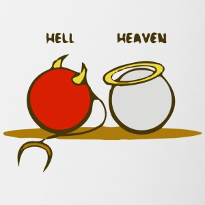 Heaven and Hell - Contrast Coffee Mug