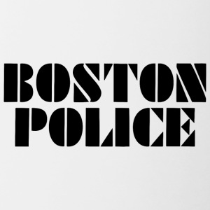 boston police - Contrast Coffee Mug