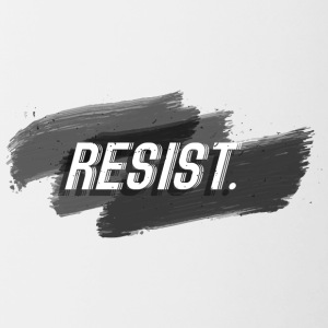 resist - Contrast Coffee Mug