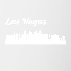Las Vegas NV Skyline - Contrast Coffee Mug