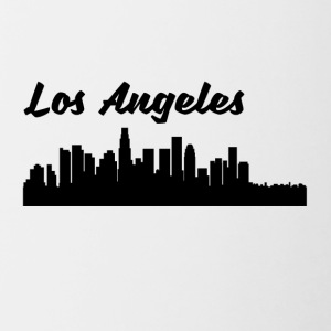 Los Angeles CA Skyline - Contrast Coffee Mug